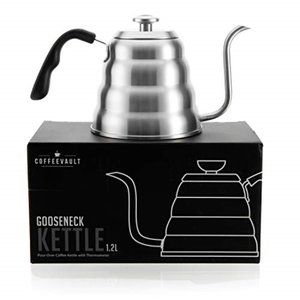 NWOT Gooseneck Kettle with Thermometer